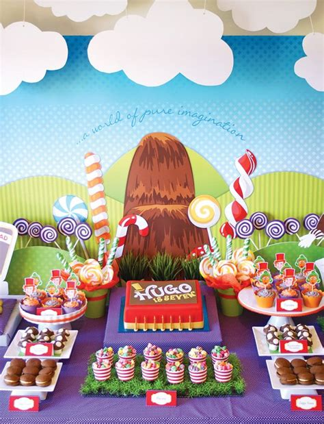{Magical} Willy Wonka Birthday Party // Hostess with the