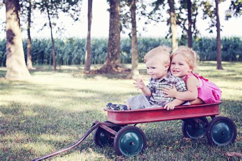 Free Images : group, people, girl, lawn, wagon, play, boy