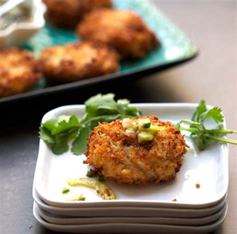 Royal Thai Crab Cakes with Sweet and Sour Dipping Sauce