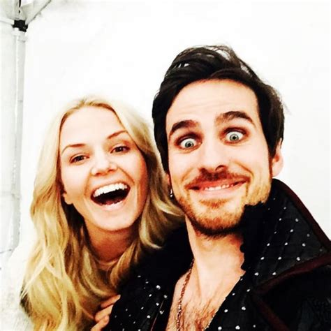 The Once Upon a Time Cast Hanging Out | POPSUGAR Celebrity