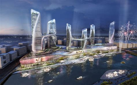 UNStudio to build up the tongzhou waterfront with CBD complex