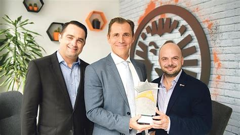 LeoVegas co-founders win Outstanding Contribution Award