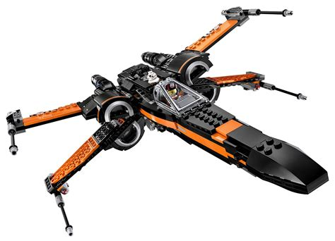 The evolution of the X-Wing as seen on Lego sets