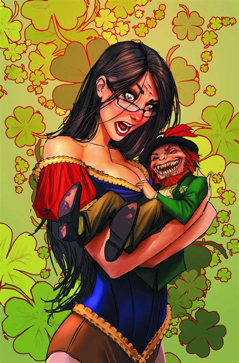 Grimm Fairy Tales St Patrick's Day Special 2013 Cover B by