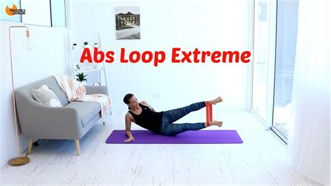 Abs Core Workout Resistance Band - BARLATES BODY BLITZ Abs