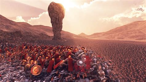 300 Spartans VS 20,000 Persians(Animation Upgraded