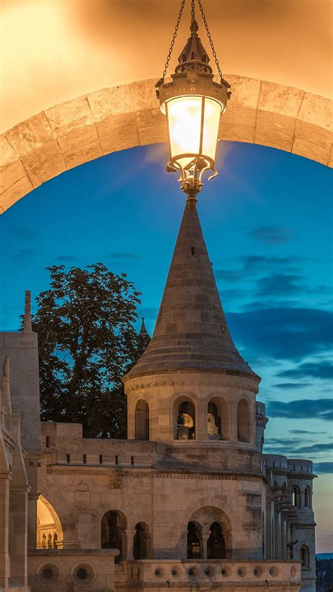 The South gate and Guardians of the Fisherman`s Bastion