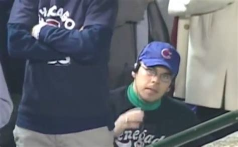 Chicago Cubs To Give Steve Bartman a World Series Ring