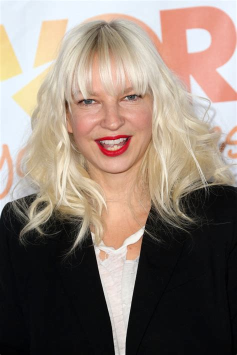 Sia - Sia Photos - Arrivals at 'TrevorLIVE' in Hollywood