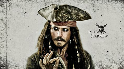 Pirates of the Caribbean Jack Sparrow Wallpapers HD