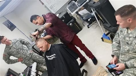Barber cuts out time for Soldiers | Department of