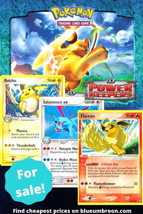 Buy all the rarest Ex Power Keepers Pokemon cards at best