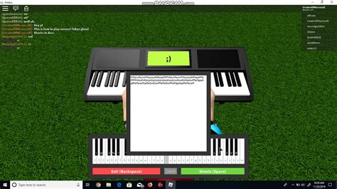 How to play unravel tokyo ghoul on roblox piano - YouTube