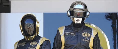 Daft Punk Unmasked, Playing Champagne Pong At Sony (PHOTO)
