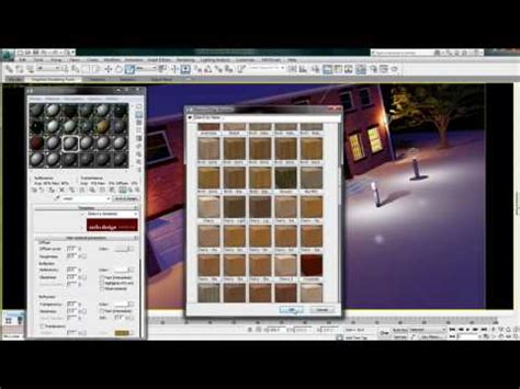 Autodesk Material Library — 3ds Max Design 2011 New