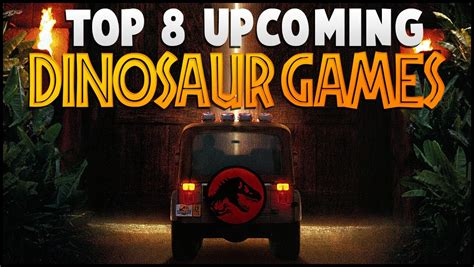 Top 8 Upcoming Dinosaur Games (For PC!) - YouTube