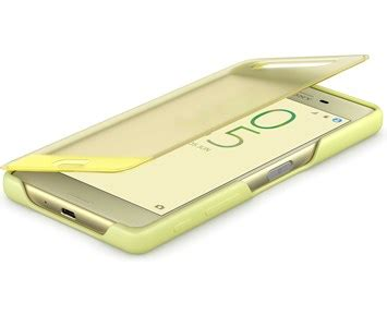 Sony Style Cover Xperia X Lime Gold - Fodral med touch