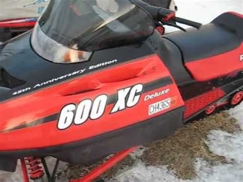 Polaris Indy 600 Xc Deluxe 45th Anniversary Edition - YouTube