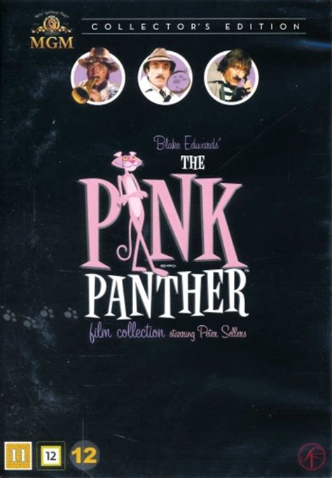 Pink Panther Film Collection (6-disc) - DVD - Discshop