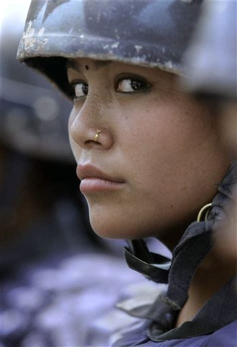 Nepalese Female Soldier image - Females In Uniform (Lovers