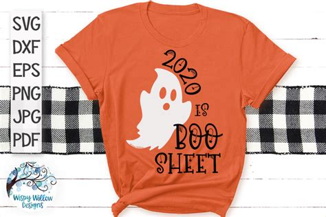 2020 is Boo Sheet SVG   Funny Halloween SVG – Wispy Willow
