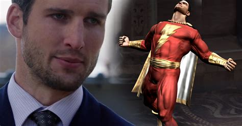 Arrow's Parker Young Auditions For Shazam (Video) | Cosmic