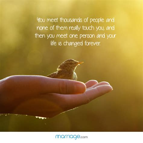 Heartfelt Quotes - You meet thousands of people and none