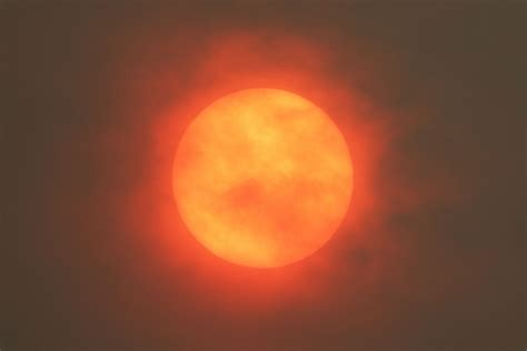 Red sun: Your best photos of the day the sky turned orange