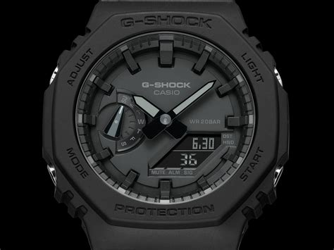 """G-Shock Introduces the """"Extra-Thin"""" GA-2100 Carbon Core"""