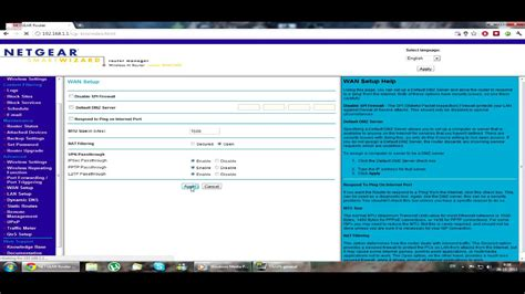 How to open NAT with Netgear router - YouTube