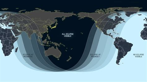 CILab: January 31, 2018 — Total Lunar Eclipse viewing map
