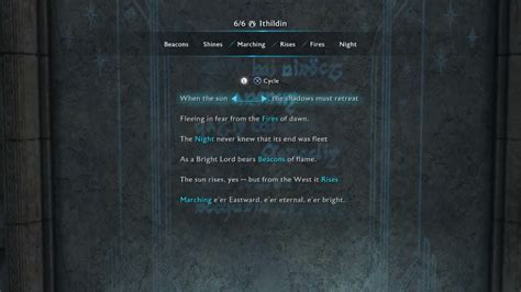 Steam Community :: Guide :: All Ithildin Door Poems