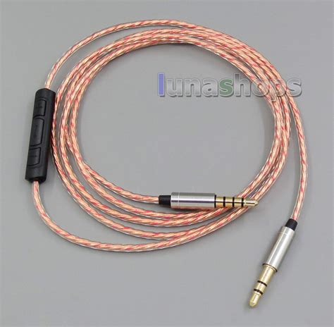 LN005396 With Remote Mic Headphone Cable For Sony mdr 10r
