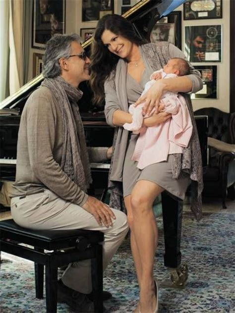 Andrea Bocelli and his family | Andrea, Singer, Our father